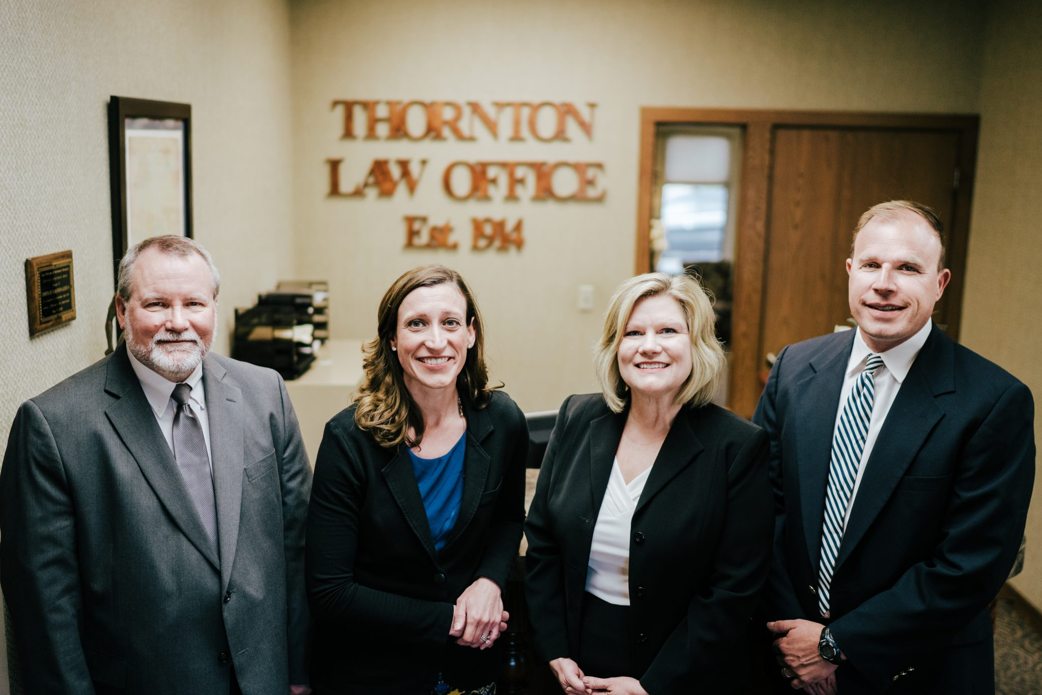The Thornton team