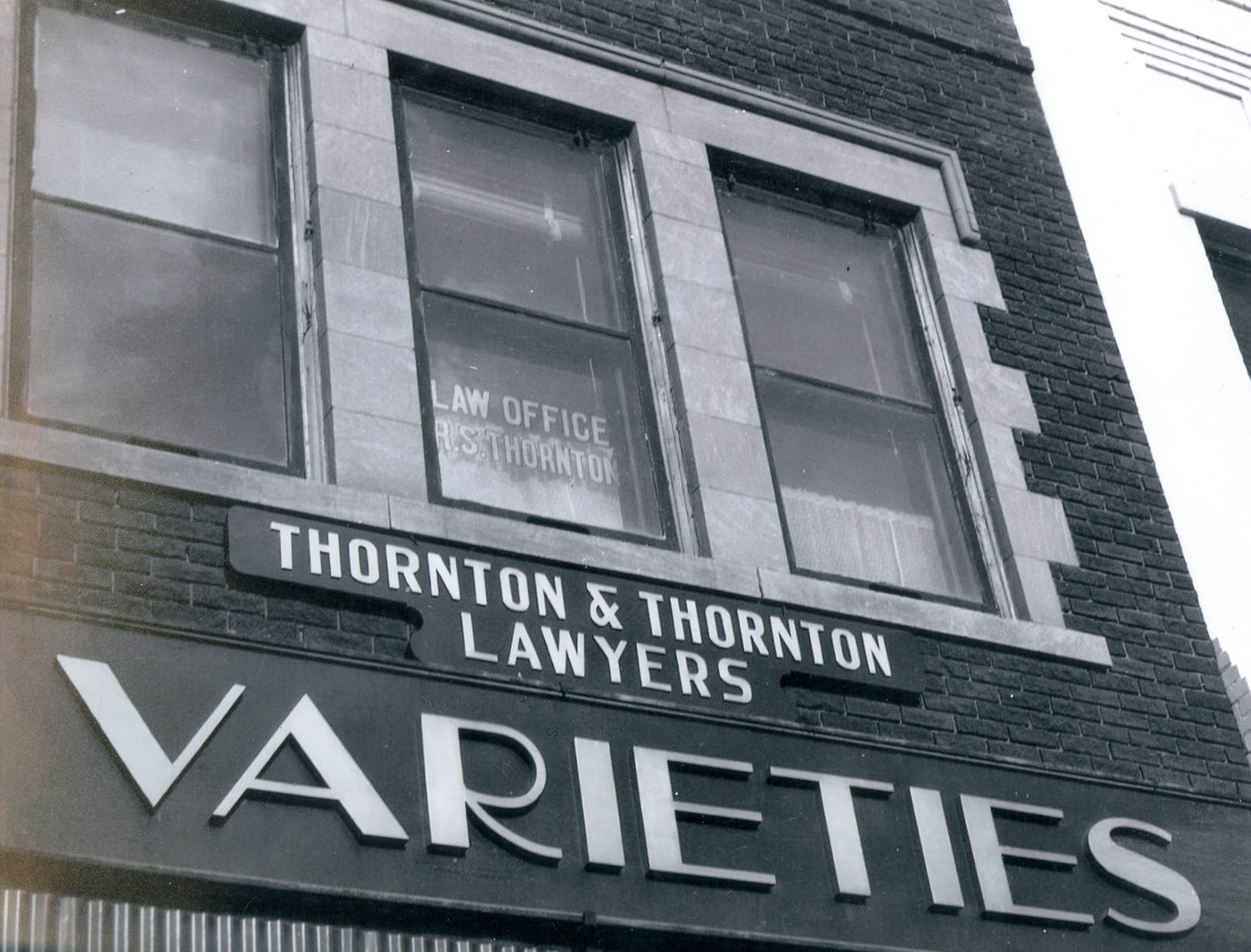 Old Thorton building